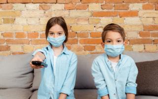 ילדים שנזהרים מקורונה