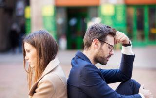 זוג בתחילת דרכם להתגרש
