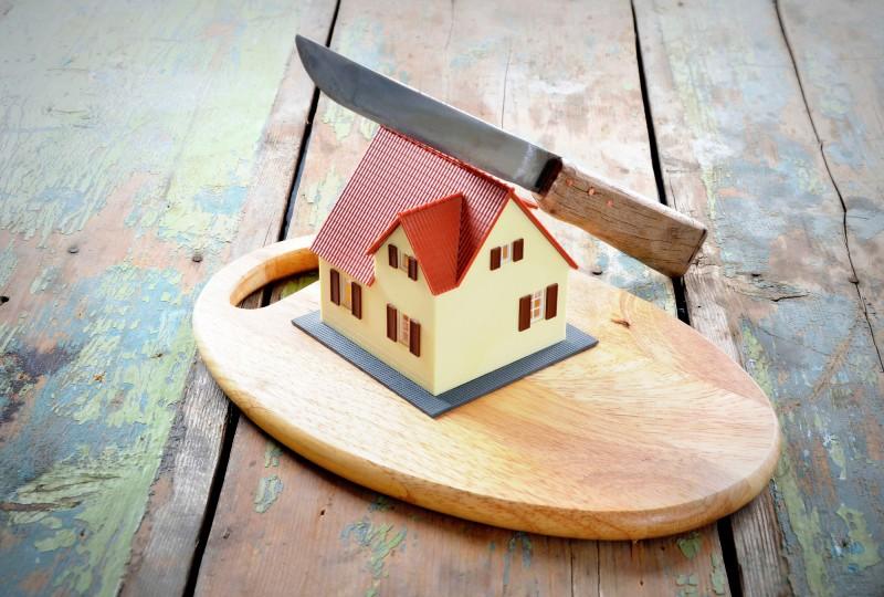 חלוקה של הבית לאחר הגירושין